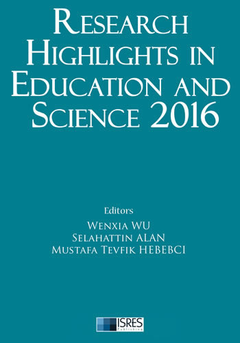 Research Highlights in Education and Science 2016