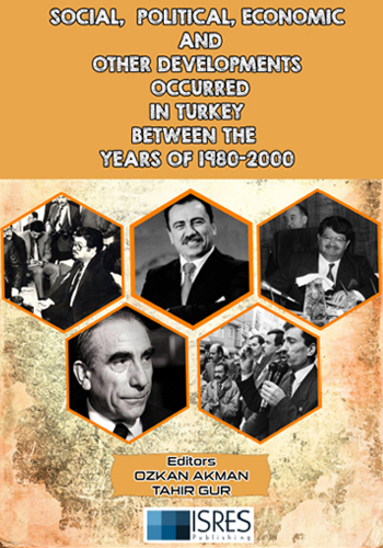 Social, Political, Economic and Other Developments Occurred in Turkey between the Years of 1980-2000